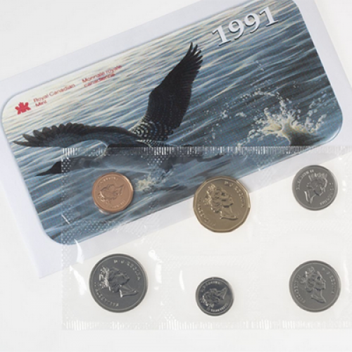 1991 Canadian Uncirculated Proof-Like Set