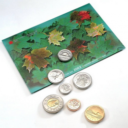 2003 Canadian Uncirculated Proof-Like Set