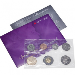 2003 W Canadian Uncirculated Proof-Like Set