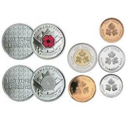 2004 Canada The Poppy Test Token Uncirculated Proof-Like Set