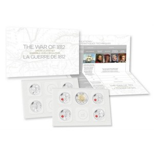 2013 Canada Special Edition Uncirculated Proof-Like Set - The War of 1812