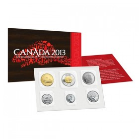 2013 Canada Uncirculated Proof-Like Set