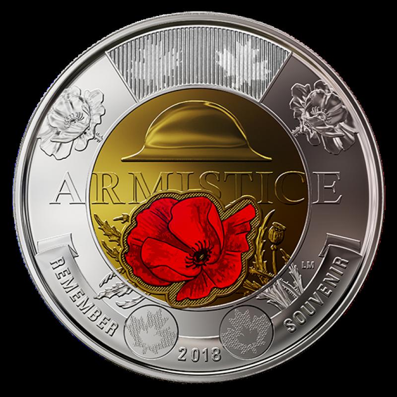 canadian 2 dollar coin 2018