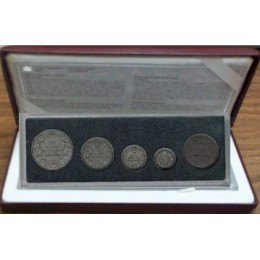 1998 Canadian Commemorative Antique Finish Coin Set