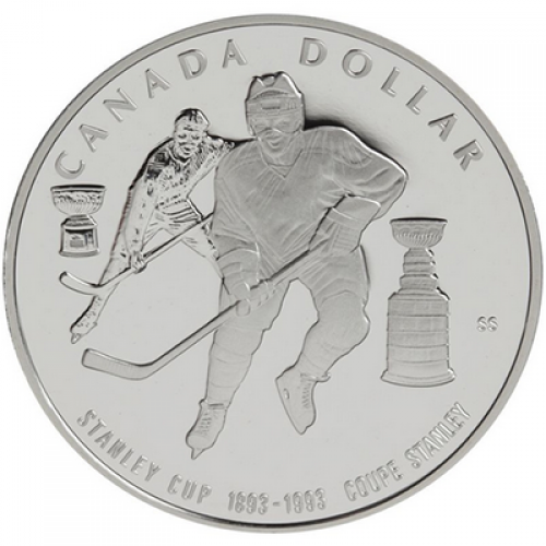 1993 Canada Proof Silver Dollar - 100th Anniversary of the Stanley Cup®