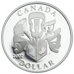 2007 Canada Special Edition Proof Silver Dollar - Celebration of the Arts