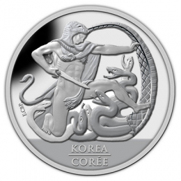 2013 Canada Proof Fine Silver Dollar - 60th Anniversary of the Korean Armistice Agreement