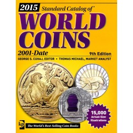 2015 Standard Catalog of World Coins: 2001-Date - 9th Edition