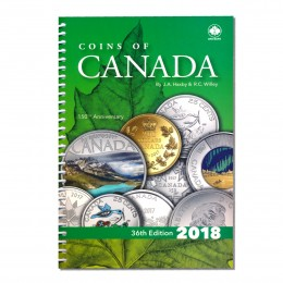 2018 Coins of Canada The Complete One Volume Library, 36th Edition - J.A. Haxby and R.C. Willey