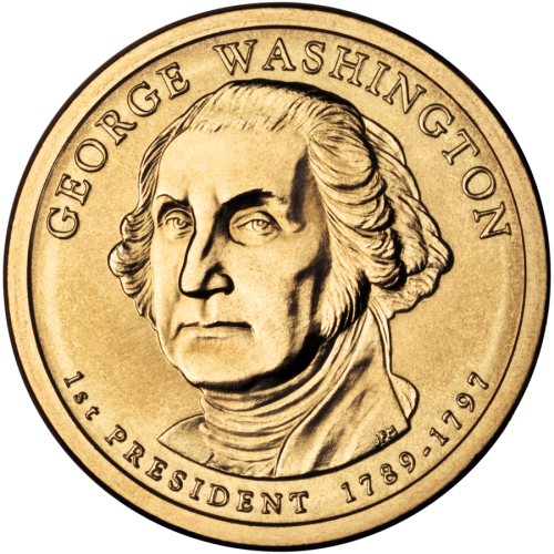 2007-D American $1 Presidential Series: George Washington Brilliant Uncirculated Coin