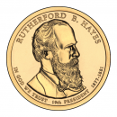 2011-D American $1 Presidential Series: Rutherford B. Hayes Brilliant Uncirculated Coin
