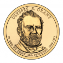 2011-D American $1 Presidential Series: Ulysses S. Grant Brilliant Uncirculated Coin