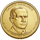 2014-P American $1 Presidential Series: Calvin Coolidge Brilliant Uncirculated Coin