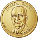 2015-D American $1 Presidential Series: Harry S. Truman Brilliant Uncirculated Coin