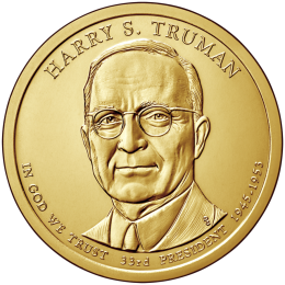 2015-P American $1 Presidential Series: Harry S. Truman Brilliant Uncirculated Coin