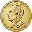 2016-D American $1 Presidential Series: Richard Nixon Brilliant Uncirculated Coin