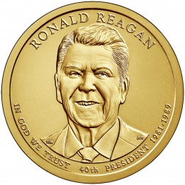 2016-P American $1 Presidential Series: Ronald Reagan Brilliant Uncirculated Coin