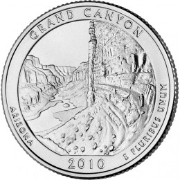 2010-P American 25-Cent National Parks: Grand Canyon Brilliant Uncirculated Coin
