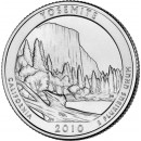 2010-P American 25-Cent National Parks: Yosemite Brilliant Uncirculated Coin