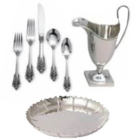 Sell your silver flatware, dinnerware sets to Coins Unlimited