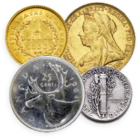 Sell your gold & silver content coins to Coins Unlimited